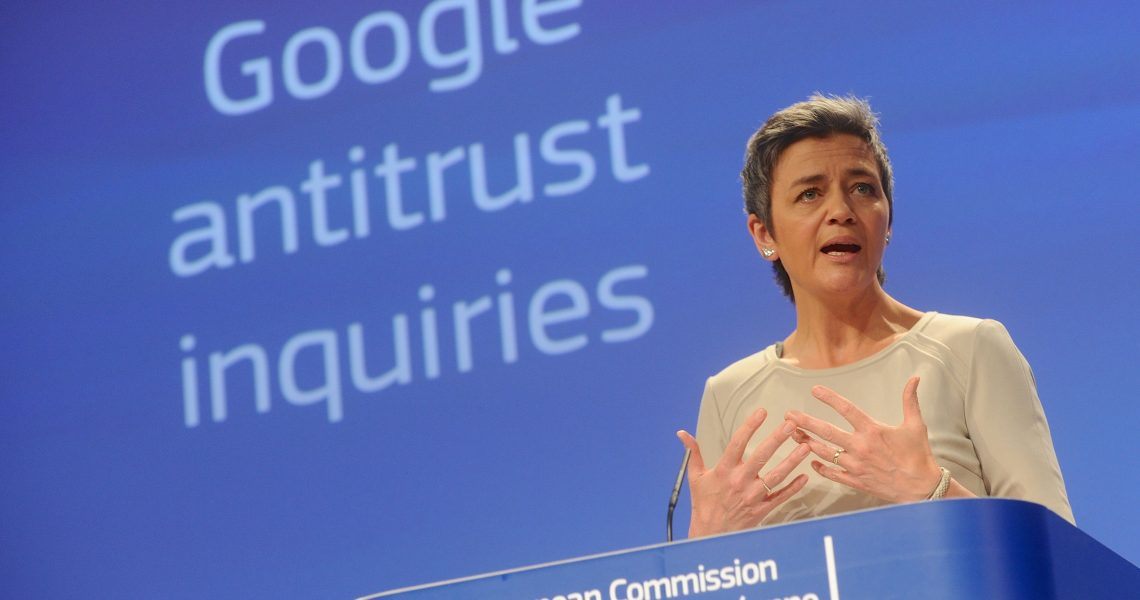 Margrethe Vestager read out of the college meeting