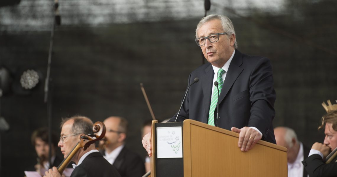Jean-Claude Juncker to the 30 Years Schengen Agreement