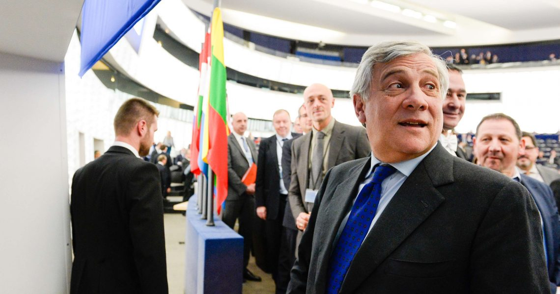Plenary session Week 3 2017 in Strasbourg - Election of the President of the European Parliament