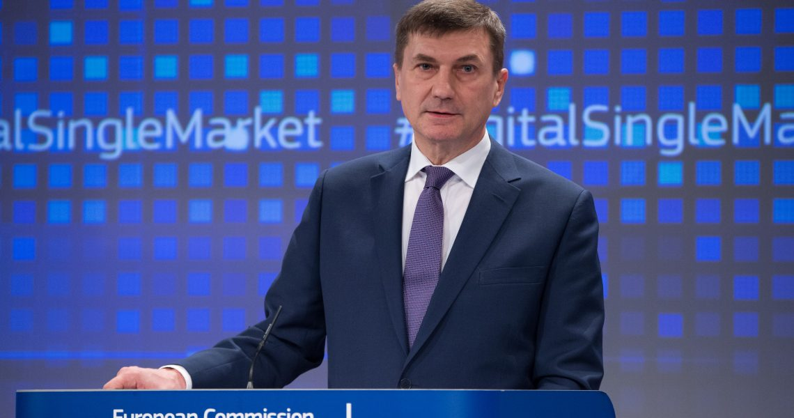 Andrus Ansip / © European Union , 2015   /  Source: EC - Audiovisual Service   /   Photo: Lieven Creemers